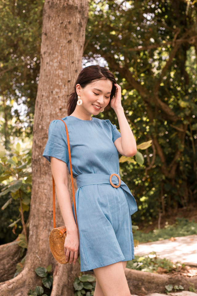 Catherine Belted Shift Dress