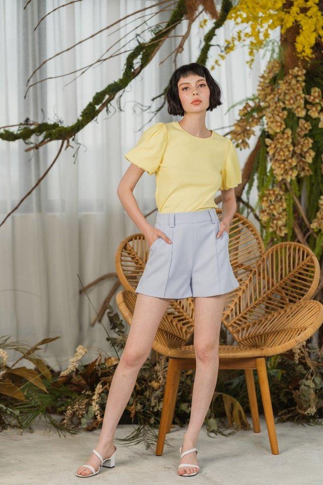 Jody High Waist Pocket Shorts in Lavender